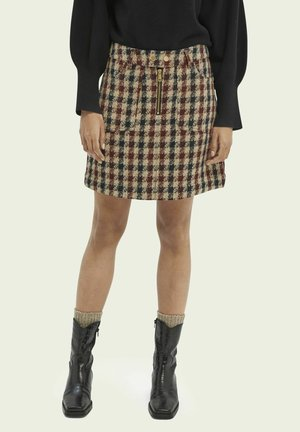 TWEED - A-line skirt - combo v