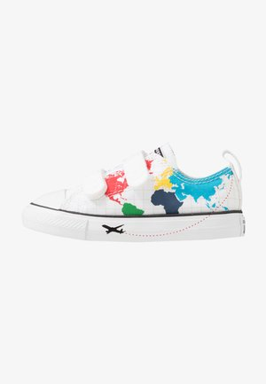 CHUCK TAYLOR ALL STAR WORLDWIDE - Sneakers laag - white/university red/black