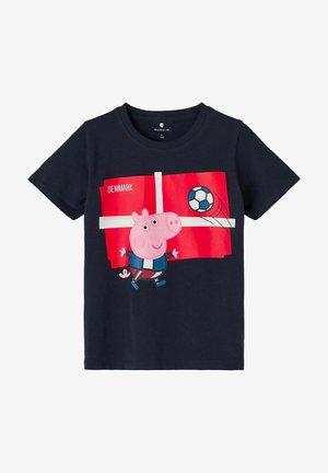 PEPPA PIG - Print T-shirt - dark sapphire