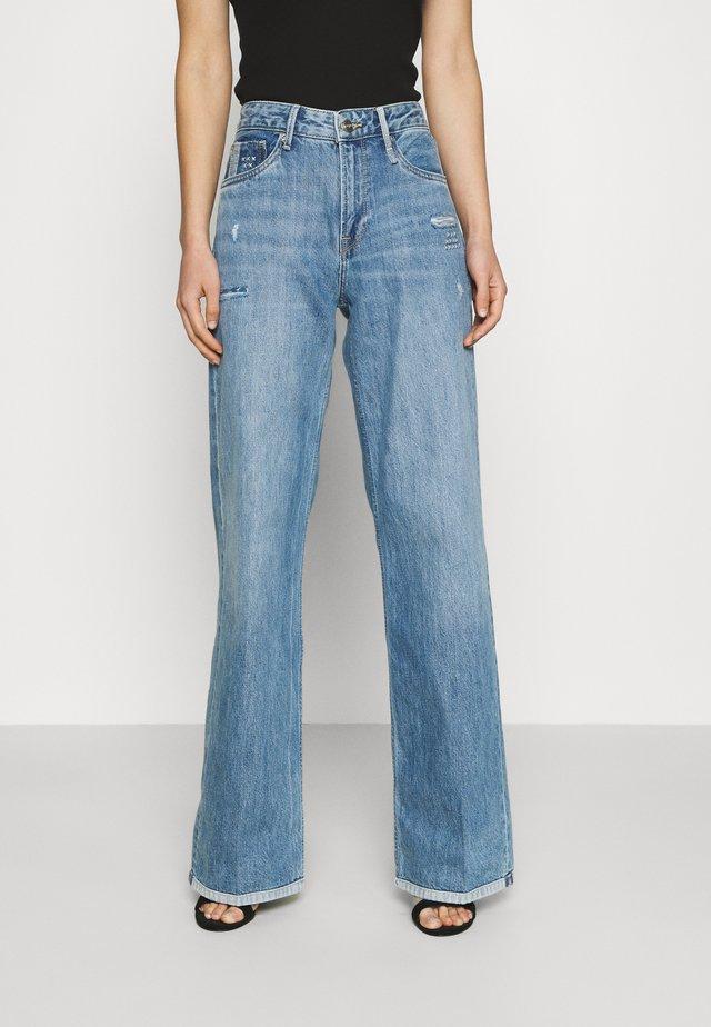 JIVE REPAIR - Flared Jeans - denim