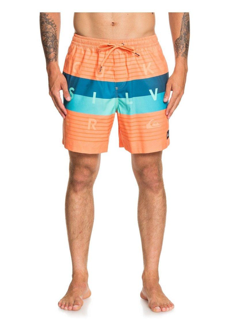 Quiksilver - WORD BLOCK VOLLEY 17 - Swimming shorts - nectarine