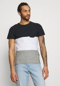 Blend - TEE - Print T-shirt - black - 0