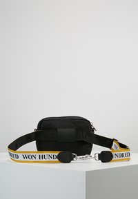 Won Hundred - ATHEN YELLOW - Borsa a tracolla - black - 2