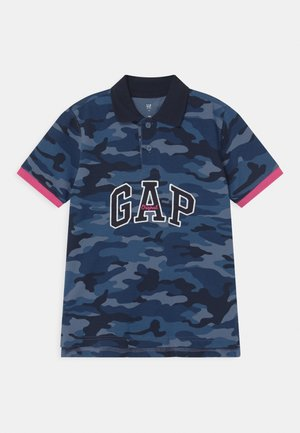 BOY PRINTED  - Polo - blue