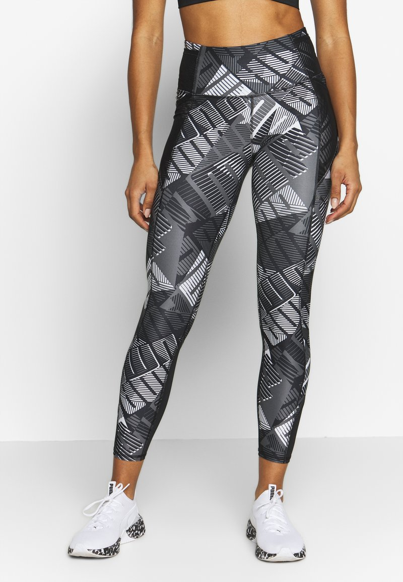 Puma - BE BOLD 7/8 - Leggings - black/grey/white