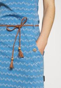 Ragwear - ZIG ZAG - Jersey dress - blue - 4