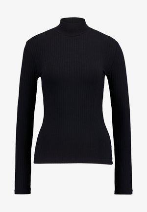 MANON LONGSLEEVE - Long sleeved top - black