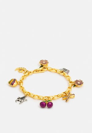 ELEVATED CHARMING CHARM BRACELET - Bracelet - gold-coloured/multi