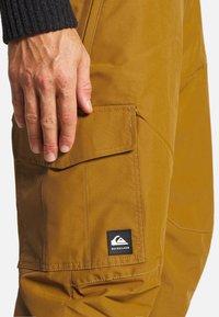 Quiksilver - PORTER - Snow pants - bronze brown - 3