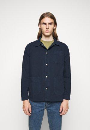 ROWAN OVERSHIRT - Shirt - navy