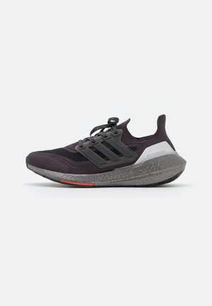 ULTRABOOST 21 PERFORMANCE BOOST - Neutral running shoes - carbon/solar red