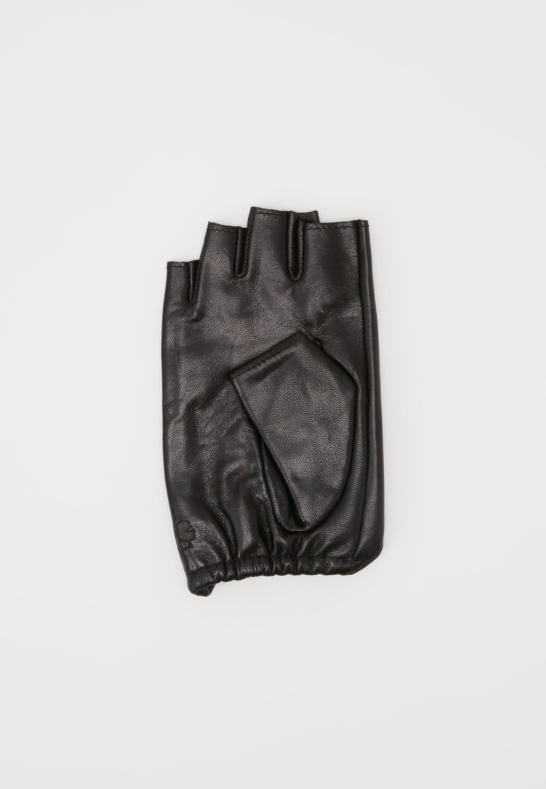 Cool Good Service Accessories KARL LAGERFELD IKONIK GLOVE Fingerless gloves black UOzmzeTTZ ea1BidN6V