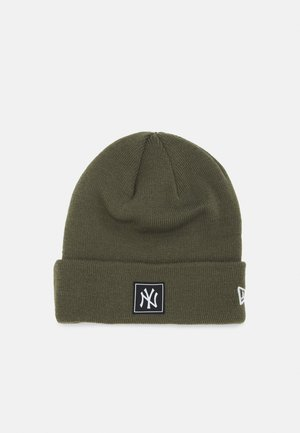 PRINTED PATCH UNISEX - Beanie - khaki