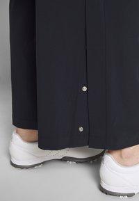 Daily Sports - PALAZZO PANTS - Spodnie materiałowe - navy - 3