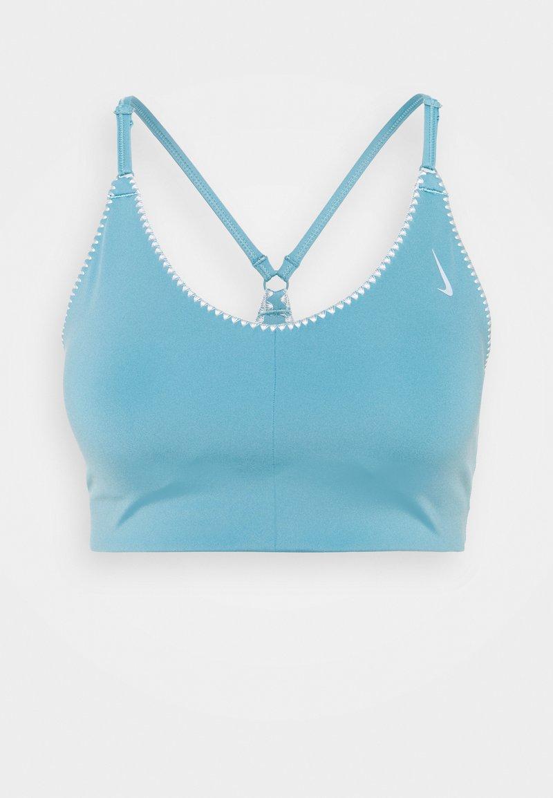 Nike Performance - INDY BRA - Brassières de sport à maintien léger - cerulean/sail/light armory blue