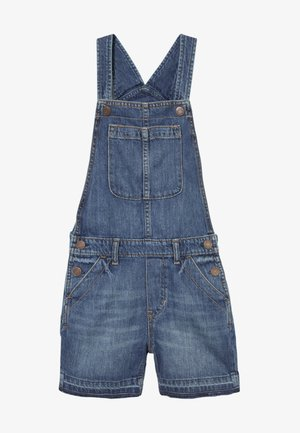 GIRL SHORTALL - Salopette - blue denim