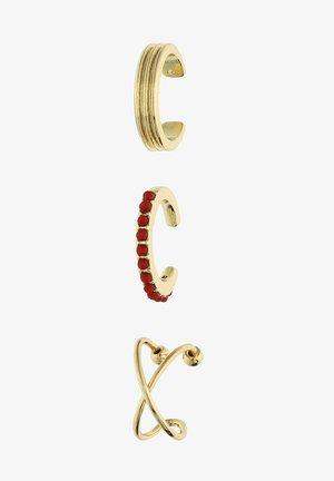 DIANA ZUR LÖWEN-SET - Earrings - goldfarben