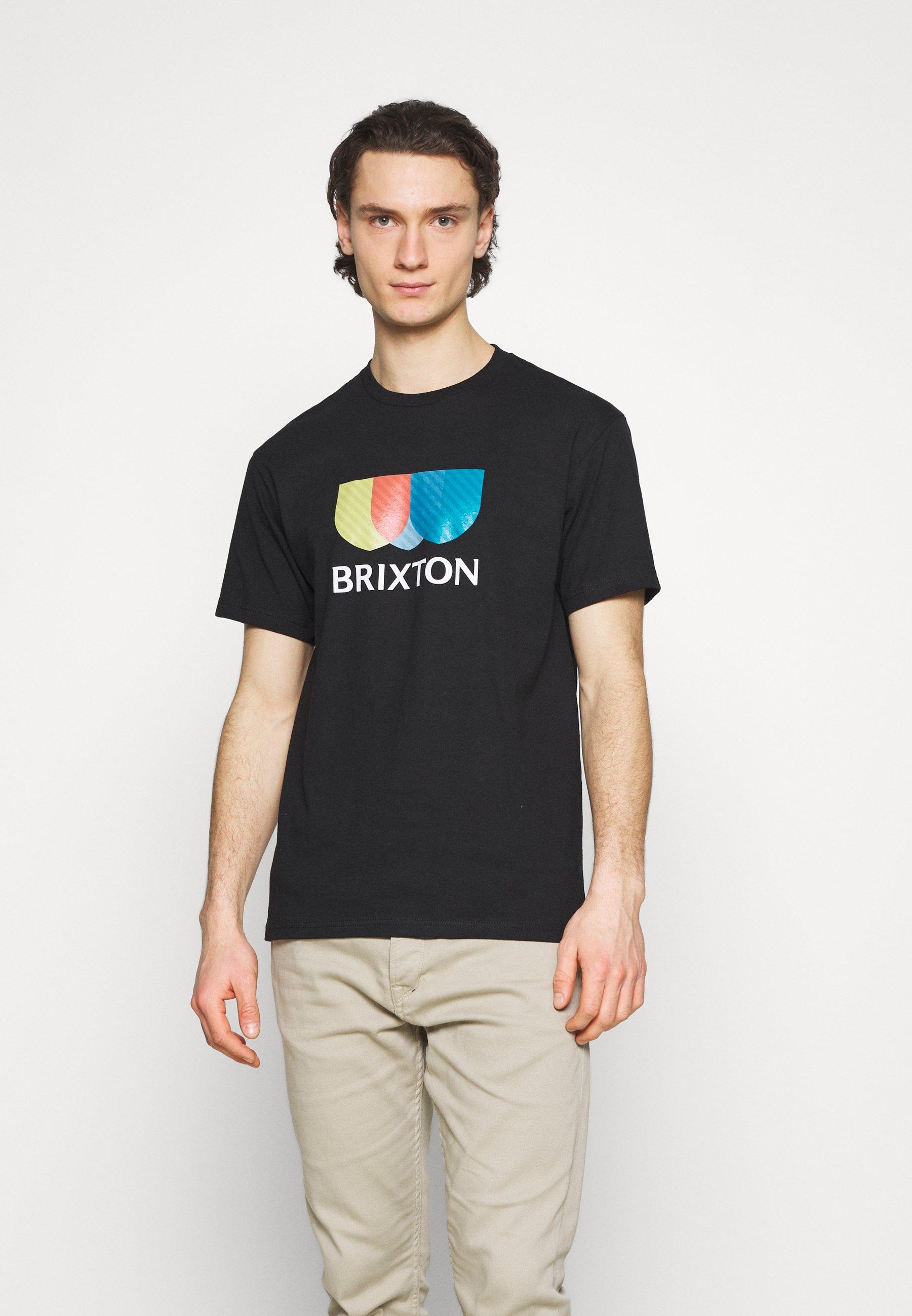 Men ALTON STRIPE - Print T-shirt