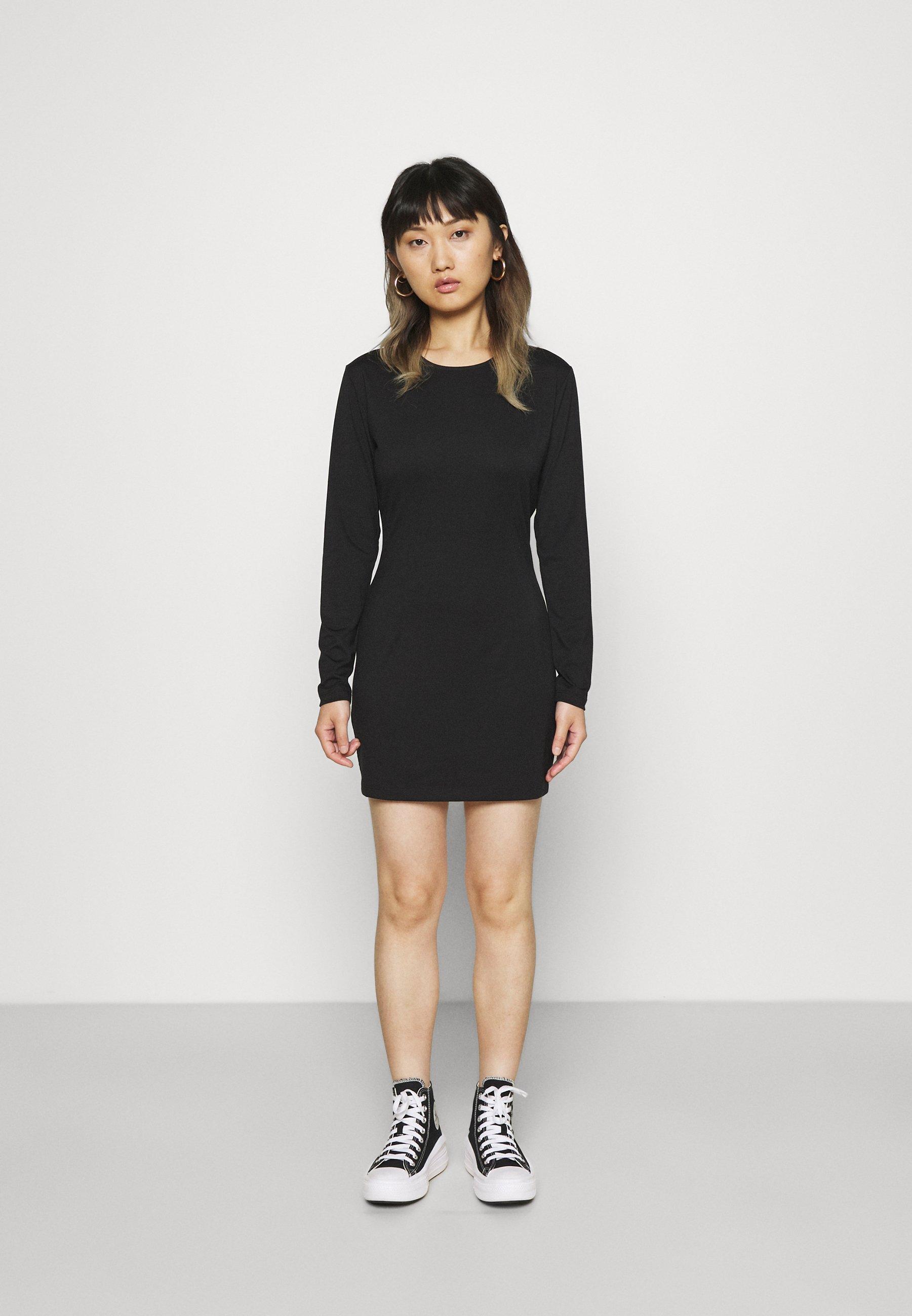 Women LONGSLEEVE MINI DRESS - Day dress