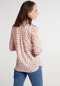 Eterna - Button-down blouse - rose/beige - 1