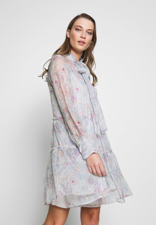 Day dress - multicolor grey