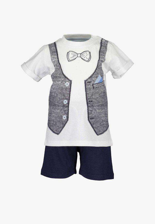 MR.GENTLE - Shorts - weiss
