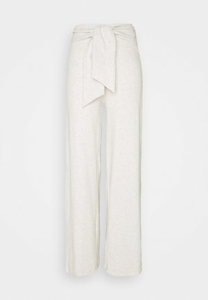ALOE TROUSERS - Trousers - grey melange