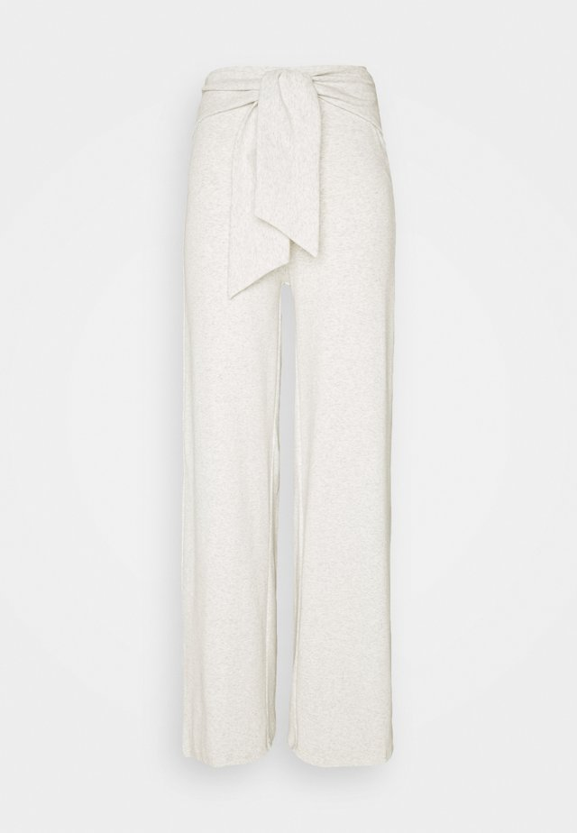 ALOE TROUSERS - Broek - grey melange