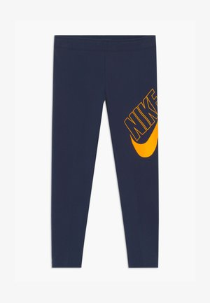 FAVORITES - Leggings - obsidian/university gold