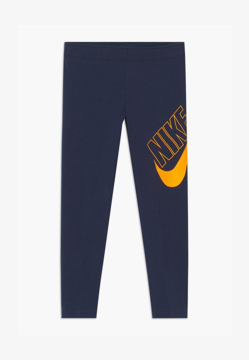Nike Sportswear - FAVORITES - Leggings - obsidian/university gold