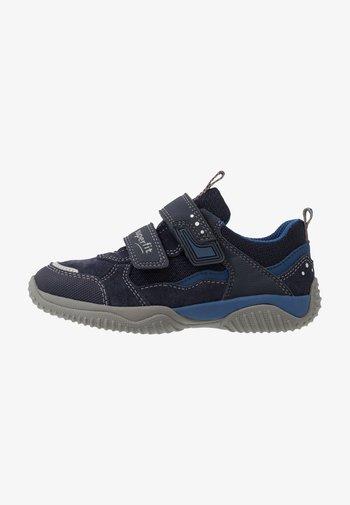 STORM - Touch-strap shoes - blau