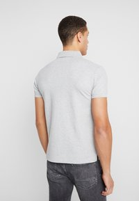 GANT - MEDIUM SHIELD RUGGER - Polo - light grey melange
