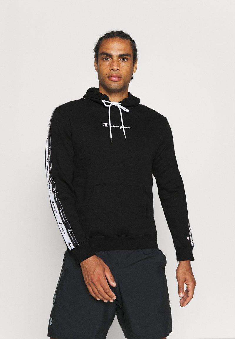 Champion - HOODED  - Sweatshirt - black