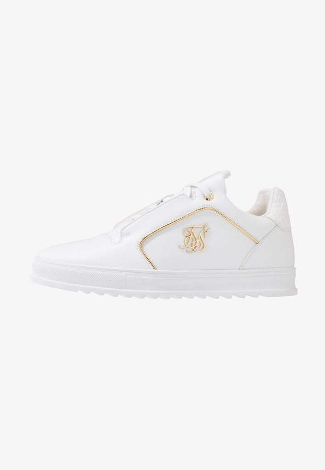 STORM - Sneakers laag - white/gold