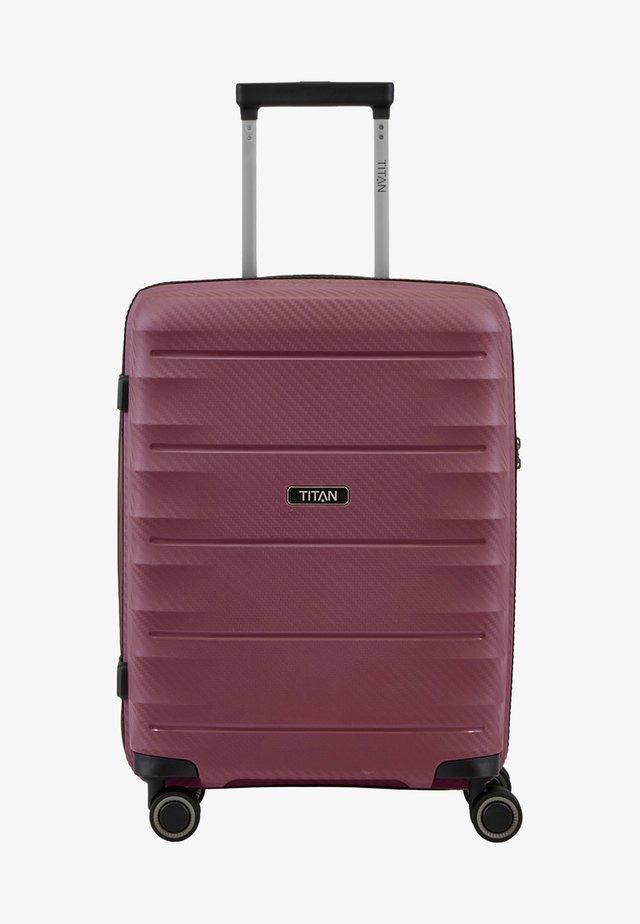 HIGHLIGHT  - Wheeled suitcase - merlot