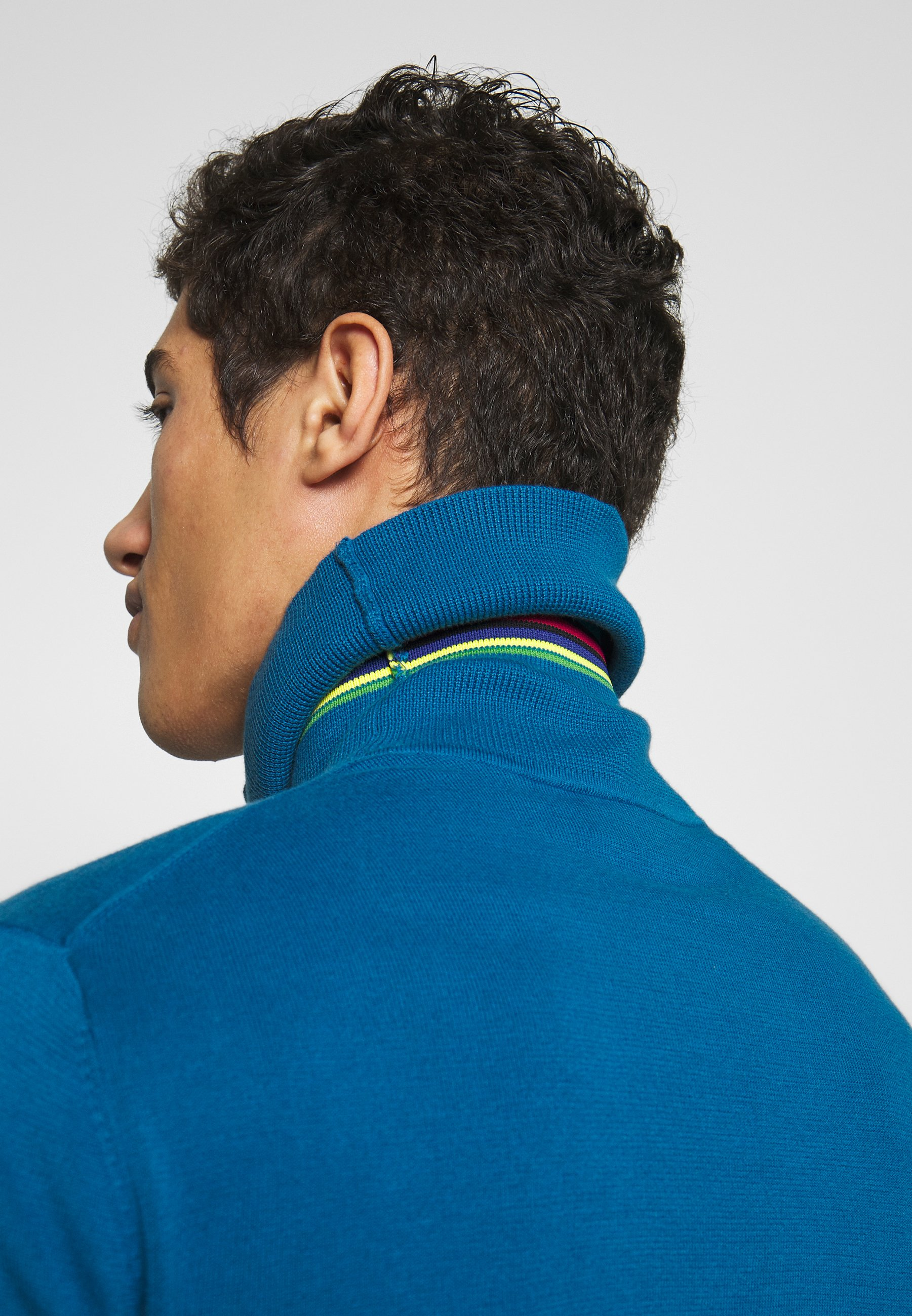 PS Paul Smith PULLOVER ROLL NECK - Pullover - blue