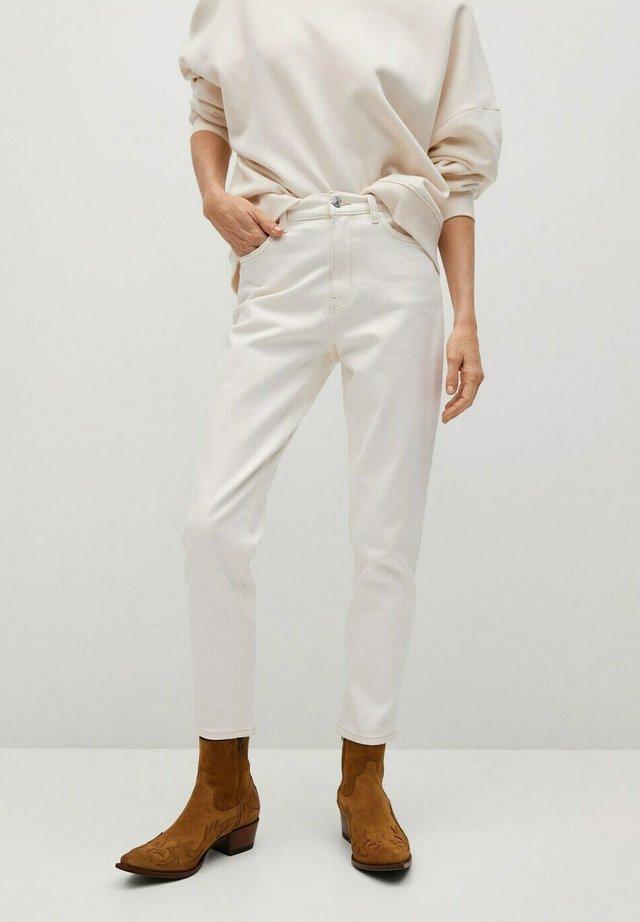 NEWMOM - Straight leg jeans - gebroken wit