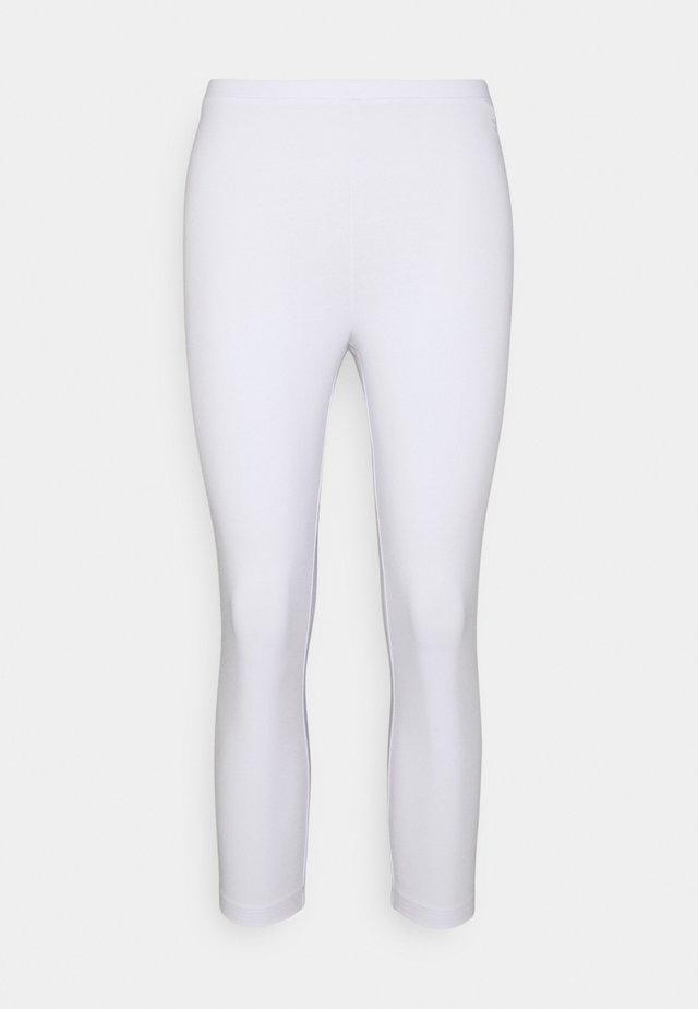 CORE COOL - Leggings - white