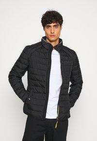 TOM TAILOR - HYBRID JACKET - Light jacket - black - 0