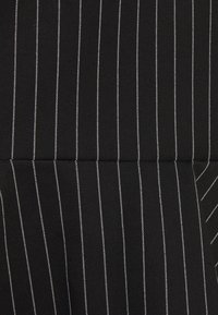 Lauren Ralph Lauren - PINSTRIPE  - Mini skirt - black/mascar - 2