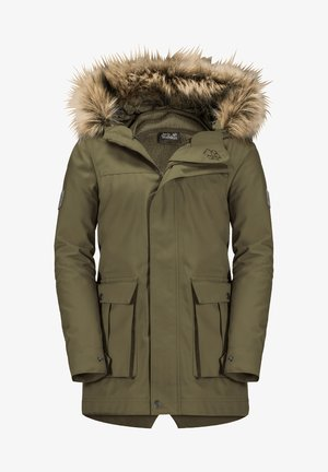 ELK ISLAND 3IN1 - Winter coat - burnt olive