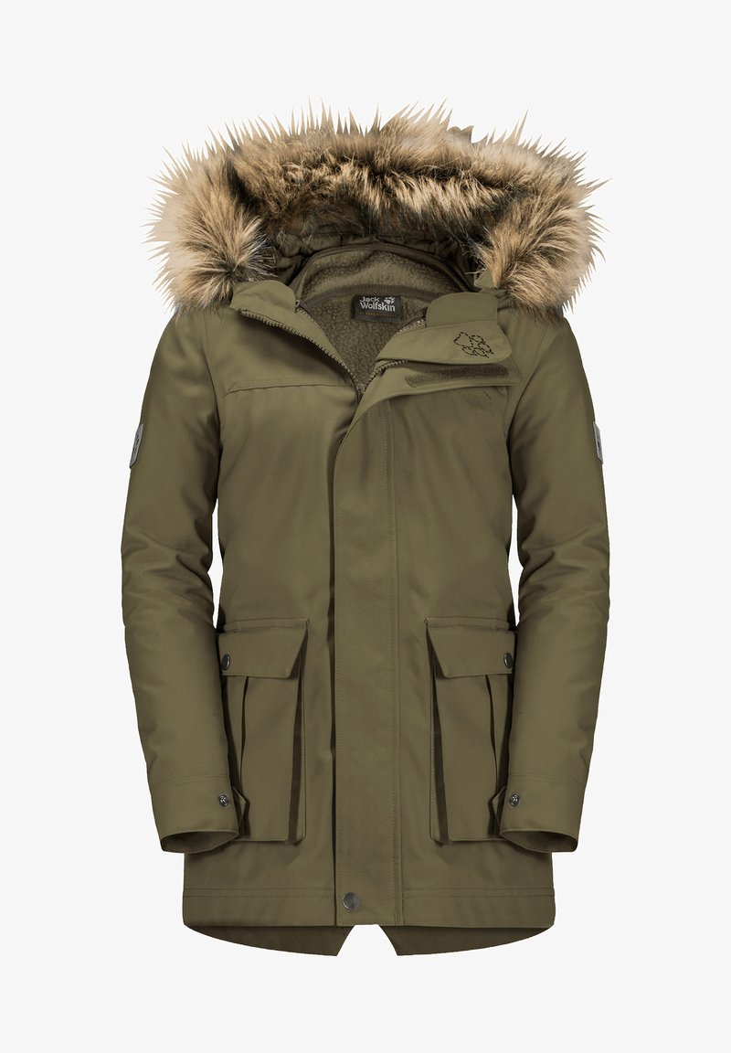 Jack Wolfskin - ELK ISLAND 3IN1 - Winter coat - burnt olive