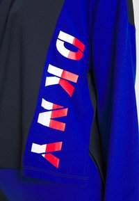 DKNY Intimates - CROP HOODIE - Pyjama top - dark blue - 4