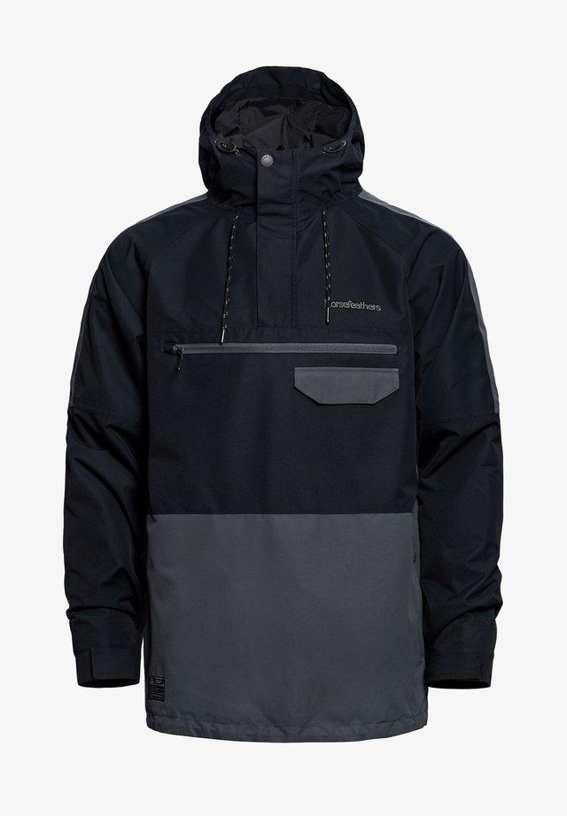 NORMAN - Snowboardjas - black