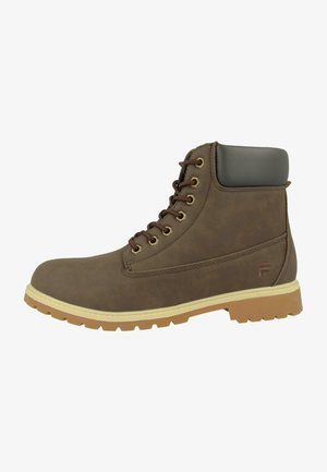 MAVERICK  - Lace-up ankle boots - brown