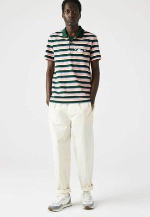 Polo shirt - grün/ blau/ rosa/ beige/weiß