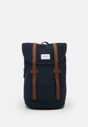 STIG - Ryggsekk - navy/cognac brown