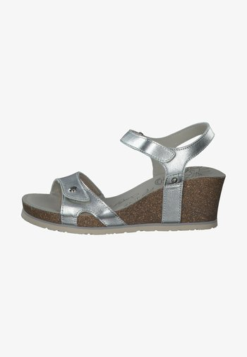 Platform sandals - silver