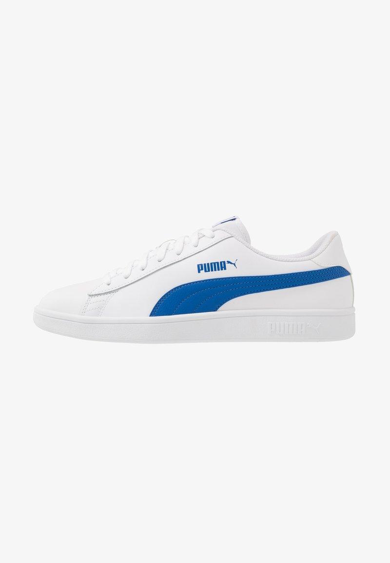 Puma - SMASH UNISEX - Sneakers laag - white/lapis blue