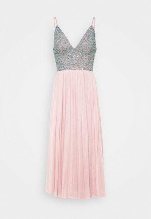 AMIRA MIDI - Cocktail dress / Party dress - blue/pink